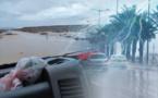 يهم المسافرين من ساكنة الناظور.. الفيضانات تغمر الطريق الرابطة بين العروي وصاكا