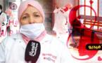 رحمة شبيبو.. عاملة نظافة وقفت في الصفوف الأولى ضد كورونا داخل مستشفى الحسني