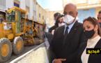 بوشارب تتفقد الأوراش التي أطلقتها وزارة الإسكان بثلاث مناطق بإقليم الدريوش