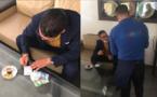 الناشط الأمازيغي المثير للجدل رشيد زناي ينخرط في حملة التضامن مع عمال المقاهي