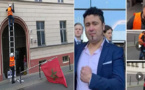 الأشخاص الذي حاولوا تدنيس العلم المغربي بألمانيا مهددون بالترحيل للمغرب