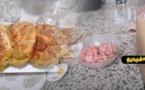 شاهدوا.. طريقة تحضير فطائر حلزونية بحشوة لذيذة