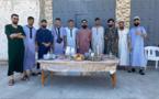 لاعب الفتح الناظوري عادل جديري يدخل الفرحة على أبناء حيه ببني انصار