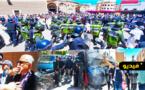 شاهدوا.. سلطات الأمن بالناظور تتدخل لمنع وقفة تضامنية مع القضية الفلسطينية