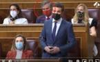 اتهامات بالخيانة داخل البرلمان الإسباني بسبب كمامة مغربية