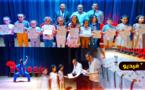 تتويج ابطال الناظور المشاركين في البطولة الوطنية في رياضة الووشو كونغ فو
