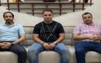 رجل الأعمال محمد لزعر والمحامي الشاب إبراهيم المحموحي يلتحقان بالتقدم والإشتراكية لدعم ياسر التيزتي