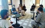 لقاء يجمع المكتب المسير لناذي أيت سعيد لكرة القدم لمناقشة مستقبل الفريق