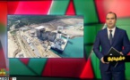 شاهدوا.. الصحفي إبن مدينة الناظور عمر شملالي يقدم شاشة تفاعلية حول ريادة المغرب في مجال البنية التحتية