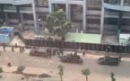 محاصرة الفندق الذي يقيم فيه المنتخب المغربي لكرة القدم اثر محاولة انقلابية في غينيا