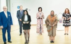 ياسمين حسناوي تنال جائزة الرائدات ببروكسيل