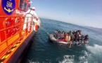 ابحروا من سواحل الريف على متن 3 قوارب.. خفر السواحل الإسباني ينقذ العشرات من المهاجرين السريين