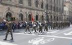 تجريدة من القوات المسلحة الملكية تشارك في الاستعراض العسكري التقليدي لإحياء ذكرى استقلال المكسيك