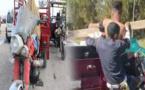 """السجن النافذ لسائق """"تريبورتور"""" ومرافقه بسبب تعريض عناصر الأمن للخطر"""