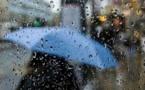 زخات مطرية متفرقة في مناطق عدة اليوم الإثنين