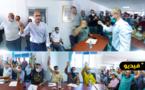 هذه تشكيلة أعضاء المكتب المسير للمجلس الجماعي للناظور بعد إنتخاب سليمان رئيسا