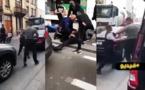 توقيف سائق سيارة بعدما رفض الإمتثال لأوامر رجال الشرطة ودهسهم في مولمبيك
