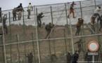 السلطات الناظورية بتنسيق مع نظيرتها بمليلية المحتلة توقف أكبر عملية تسلل عبر السياج الحدودي