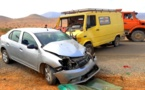 إصابة شخصين بجروح في حادثة سير بين الدريوش وأولاد بوبكر