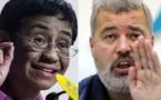 جائزة نوبل للسلام 2021 لصحفيين.. الفلبينية ماريا ريسا والروسي دميتري موراتوف