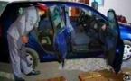 الدريوش.. عناصر الدرك الملكي تحجز سيارة محملة بكمية من المخدرات وتنجح في اعتقال سائقها