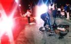 أزغنغان.. سائق سيارة يصدم دراجة نارية ويفر من موقع الحادث