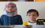 شاهدوا.. طفلين من الناظور يعيشان التشرد في تركيا بعد وفاة أبويهما في سوريا والعائلة تناشد الملك لإرجاعهما