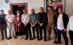 رئيس وأعضاء المجلس الإقليمي للدريوش يستقبلون ممثلي الفرق الكروية ويتعهدون بتدارس مشاكلهم