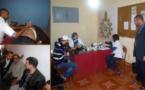 منخرطو الاتحاد العام للشغالين بالمغرب بالناظور يستفيدون من حملة لقياس السكري