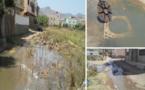 """ها قد وقع ما حذر منه المجتمع المدني بلدية أزغنغان : حي """"ابنعليتا"""" يغرق في مياه واد الحار"""