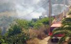 اندلاع حريق بجبل وكسان التابعة لنفوذ بلدية ازغنغان