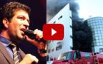 """أغنية اسماعيل بلعوش """"ثيماسي د الدخان"""" عن كارثة حريق سوق سوبر مارشي"""
