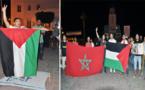 شباب حزب الاستقلال بالناظور يحتجون ضد عمليات الجيش الإسرائيلي بقطاع غزة