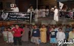 سَلَفِيُو الناظور ينضمون الى رَكْبِ المحتجين ضد التقتيل الإسرائيلي المُمَارَس بقطاع غزة