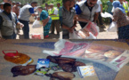 جمعية الرحمة ترسم البسمة على 180 أسرة في وضعية اقتصادية صعبة بتمسمان