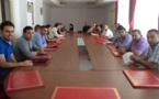 والي ورئيس الجهة يلتقيان بأعضاء كنفدرالية جمعيات صنهاجة الريف للتنمية بالحسيمة