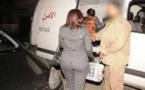 الشرطة تعتقل مواطنة إسبانية متلبسة بحيازة مخدر الشيرا بمطار العروي