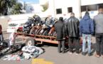 أمن آسفي يعتقل عصابة متخصصة في سرقة الدراجات النارية سبق أن إستهدفت ضحايا من الناظور