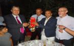 رئيس بلدية ابن الطيب يشرف على حفل استقبال ابطال دوليين في رياضة التكواندو
