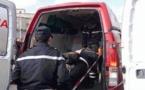 سائق مخمور يخترق مقهى بسيارته بالسعيدية