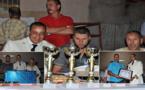 جمعية الكرة الحديدية تحتفي بباشا بلدية سلوان وتكرمه