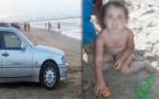 سيارة اسبانية تصدم طفلة صغيرة وصاحبها يحتال على أم الطفلة ويلوذ بالفرار بشاطئ بوقانا