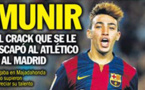 اللاعب الريفي منير حدادي يرفض عروض ريال مدريد وأتلتيكو مدريد ويشدد على بقائه في البرسا