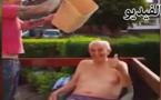 بالفيديو: أكبر معمر في بريطانيا ذو 102 سنة يشارك في تحدي الثلج