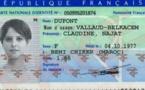وسائل إعلام فرنسية تنشر الواجهة الأمامية للبطاقة الوطنية الفرنسية الخاصة بالريفية نجاة بلقاسم