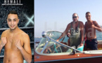 البطل المغربي بهولندا في الكيك بوكسينج إسماعيل بن علي يلتقي الملك محمد السادس في شواطئ الحسيمة