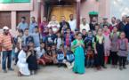 توزيع مجموعة من الأدوات واللوازم المدرسية على التلاميذ المنحدرين من أسر فقيرة بتمسمان