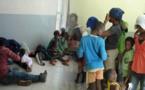 درك الكبداني بالدريوش يوقف 20 مهاجرا سريا من دول أفريقيا جنوب الصحراء