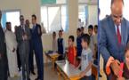 عامل إقليم الدريوش يعطي الإنطلاقة الرسمية للموسم الدراسي الحالي بمدرسة ميضار
