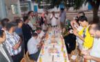 الأطر المشاركة في الإحصاء بالعروي تحتفل بختامها لعملية الإحصاء بالمدينة